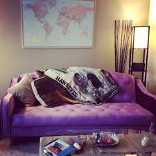 Purple Sleeper Sofa Marvelous Velvet Tufted Sleeper Sofa Living Room