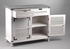 buffet de cuisine un buffet d appoint en mdf sapin et métal 40 x 90 x 80 cm 413