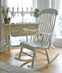 Wooden Rocking Chair Cushions For Nursery Wooden Rocking Chair This Rocking Chair Is So Lovely