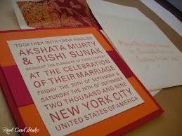 Modern Indian Wedding Invitations Real Card Studio Modern Indian Wedding Invitations