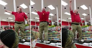 target black friday shoes target manager channels his inner spartan for black friday