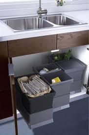 Kitchen Trash Can Ideas 25 Best Under Sink Bin Ideas On Pinterest Under Sink Storage