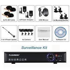 home theater dvr amazon com floureon 4ch 960h digital video recorder hdmi dvr