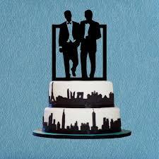 cake topper same cake topper silhouette cake topper unique