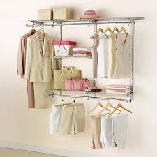 Rubbermaid The Home Depot Rubbermaid 3 Ft To 6 Ft W Customizable Closet Organization Kit