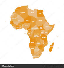 shades of orange names africa political map without names 100 images names of all the