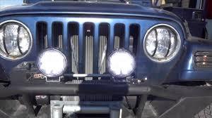 jeep liberty renegade light bar diy fog lamp installation youtube