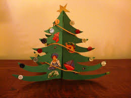 craft idea make an old fashioned paper christmas tree u2013 a hundred