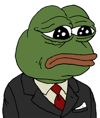 Green Man Meme - biz business finance