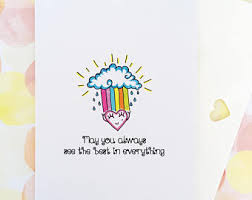 inspirational card etsy