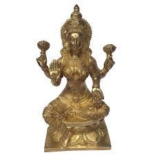 goddess laxmi brass carved metal statue for home decor buy laxmi