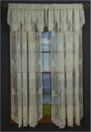 garland lace curtain panel and valance shopbedding com