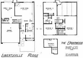 libertyville ridge subdivision in libertyville illinois homes briarwood 3 2 1 1 966 ft2 yes none view floorplan