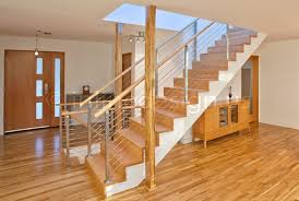 production spiral staircase installed custom balustrade stairs