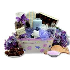 bath gift sets tranquility bath gift basket with soaps sponges etc 11