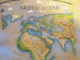 Large Vintage World Map by Antique World Map U2013 Crossstitchandkeepsakes
