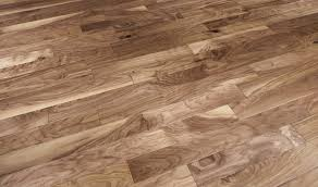 Light Walnut Laminate Flooring Natural American Walnut Flooring Hand Scraped Brown Hardwood