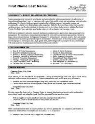 Public Relations Resume Example by Public Relations Professional Resume Template Premium Resume