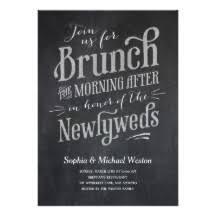after wedding brunch invitations post wedding brunch invitations announcements zazzle