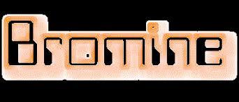 Bromine Periodic Table Element Symbol