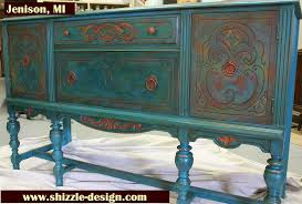 Painted Buffets And Sideboards by 221st Power Of Paint Party Domestically Speaking