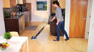 Steam Cleaner Laminate Floor Why Steam Clean Bissell Youtube