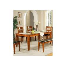 Mango Dining Table Steve Silver Company Mango Dining Table With 18 Inch Butterfly