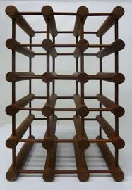 architectural danish modern wine rack by richard nissen at 1stdibs
