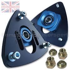 porsche boxster top porsche boxster adjustable front suspension top mount blue black