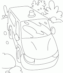 police car two police with car coloring page two police patrol