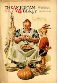 puck magazine thanksgiving cover 1904 vintage magazine cover