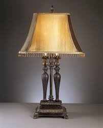 lights appliances luxury vintage brass table lamp with green