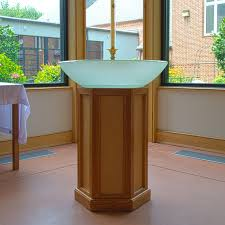 baptismal basin etched glass baptismal font sinks gallery