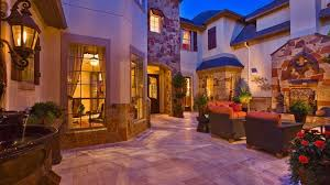 mediterranean style homes tuscany courtyard house mediterranean
