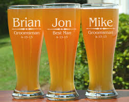 his and hers glassware rustic personalized pilsner glasses with carved tree heart