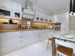 comptoir de cuisine blanc chaise à manger en bois la mode comptoir de cuisine blanc élégant