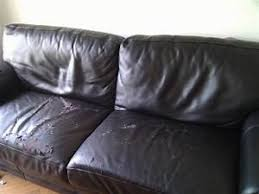 r nover canap cuir rénover un canapé en cuir craquelé