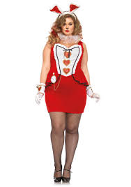 plus size halloween costume ideas plus size tic tock white rabbit halloween costume