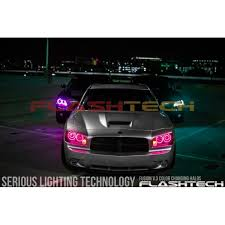 halo lights for 2013 dodge charger dodge charger v 3 fusion color change led halo fog light kit 2005