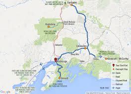 denali national park map alaska national parks tour visit 4 alaska national parks with