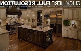 Kitchen With Cream Cabinets by Classic Kitchen Cabinets Cream Granite Countertops Silver Chrome