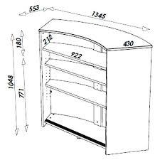 hauteur d un bar de cuisine hauteur meuble bar meuble bar alinea cuisine cuisine cuisine cuisine