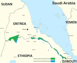 Djibouti Map How The Eritrea U2013 Djibouti Border Dispute Affects The