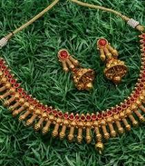 Buy Alankruthi Pearl Necklace Set Alankruthi Online Boutique Official
