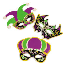 fancy mardi gras felt fancy mardi gras masks set of 12 s discovery mardi
