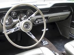 ford mustang 1967 interior sauterne gold 1967 ford mustang hardtop mustangattitude com