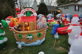 christmas inflatables outdoor decorations home decorating interior design