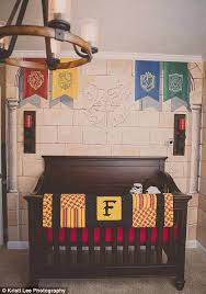 gryffindor bedroom harry potter inspired nursery in illinois has a dumbledore