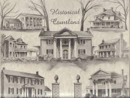 Historic Southern House Plans by Childhood Memories