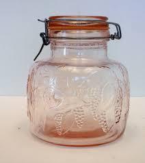 vintage glass canisters kitchen 41 best kitchen canisters images on kitchen canisters